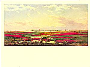 Across the Marshes Frederick DeBourg Richards Postcard cs3979 (Image1)
