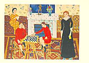The Painter s Family, Henri Matisse Postcard cs3991 (Image1)