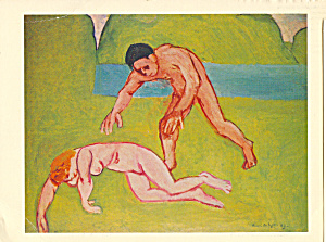 Nymph and Satyr Henri Matisse Postcard cs3992 (Image1)