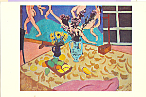 Still Life with The Dance Henri Matisse Postcard cs3993 (Image1)