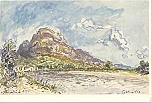 View of Grenoble J B Longkind Postcard cs3999 (Image1)