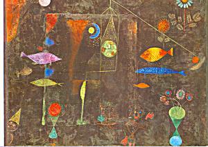 Fish Magic Paul Klee postcard cs4000 (Image1)