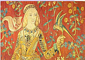 La Dame A la Licorne Postcard cs4005 (Image1)