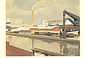 American Landscape Charles Sheeler Postcard cs4024 (Image1)