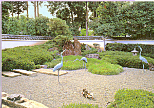 Longevity Garden Daisen in Temple Kyoto Japan cs4040 (Image1)