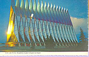 US Air Force Academy Chapel at Dusk cs4060 (Image1)