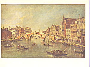 View on the Cannaregio,Venice, Francesco Guardi (Image1)