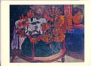 Sunflowers Paul Gauguin Postcard cs4093 (Image1)