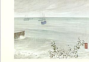 The Ocean James Whistler Postcard cs4103 (Image1)