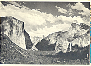 Yosemite Valley, Yosemite National Park, Ansel Adams (Image1)