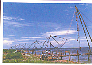 Fishing Nets Cochin Kerala China (Image1)