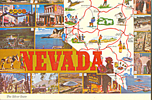 Map of State of Nevada cs4149 (Image1)