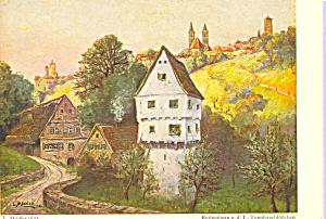 Castle of the Toppler Germany L. Mossler Postcard cs4179 (Image1)