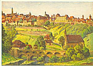 Rothenburg o d T Germany L Mossler Postcard cs4181 (Image1)