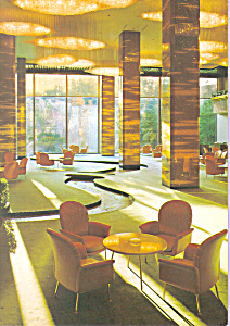 Royal Hotel Osaka Japan Postcard Cs4268