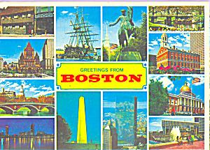 Twelve small views of Boston MA cs4327 (Image1)