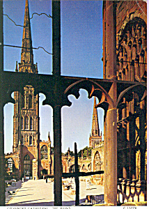 The Ruins Coventry Cathedral England Cs4342