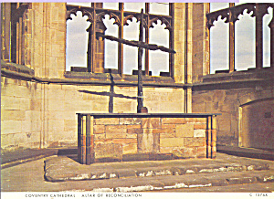 Altar of Reconciliation Coventry Cathedral  England cs4344 (Image1)