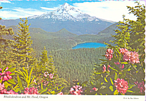 Mt Hood and Lost Lake, Oregon (Image1)