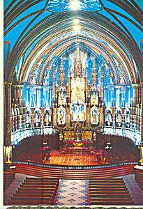 Interior Notre Dame Church Montreal,Quebec Canada  cs4373 (Image1)
