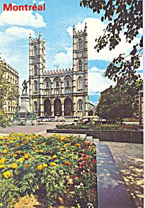 Exterior Notre Dame Church Montreal Quebec Canada cs4374 (Image1)
