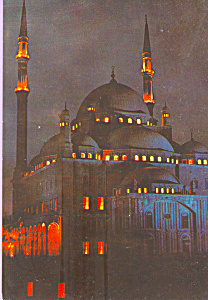 Mohamed Aly Mosque Cairo Egypt cs4378 (Image1)