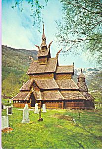 Norway Borgund Stave Church Sogn cs4410 (Image1)