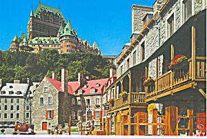 Chateau Frontenac  Quebec  Canada cs4427 (Image1)