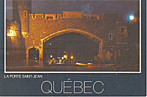 Saint Jean Gate , Quebec, Canada (Image1)
