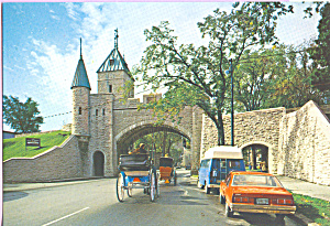 Saint Louis Gate , Quebec, Canada (Image1)