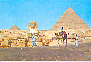 The Great Sphinx and Khelreh Pyramid Egypt cs4437 (Image1)