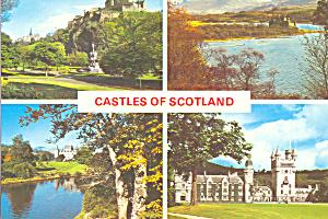 Castles of Scotland Postcard cs4458 (Image1)