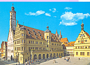 Rothenburg ob der Tauber Germany City Hall cs4465 (Image1)