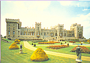 Windsor Castle East Terrace Garden Postcard Cs4473