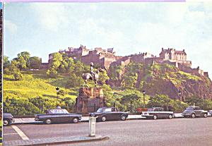 Edinburgh Castle Scotland Postcard cs4480 (Image1)