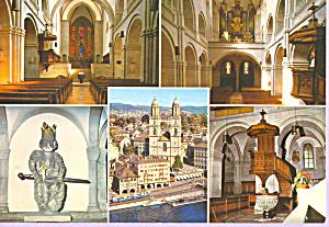 Zurich Switzerland Das Grossmunster cs4511 (Image1)