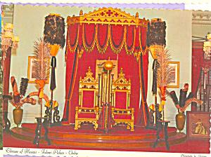 Throne of Hawaii Iolani Palace Oahu Hawaii cs4550 (Image1)