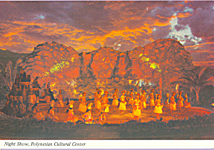 Night Show Polynesian Cultural Center Oahu Hawaii cs4552 (Image1)