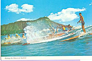 Riding the Waves at Waikiki Hawaii cs4556 (Image1)