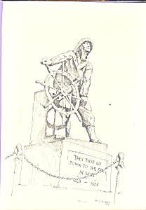 Sailor's Statue, Gloucester, Massachusetts (Image1)