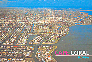 Aerial View of Cape Coral Florida cs4580 (Image1)