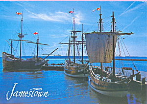The Three Ships, Jamestown, Virginia