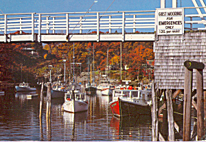 Perkins Cove Maine Cs4594