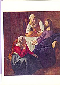 Christ in House of Martha & Mary, Jan Vermeer (Image1)