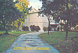 Little White House Key West Florida Harry Truman Cs4656