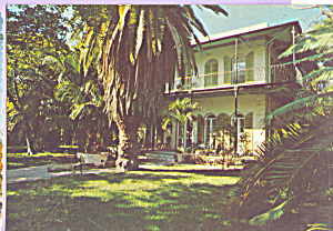 Ernest Hemingway House Key West Florida cs4663 (Image1)