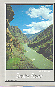Hells Canyon And The Snake River Or Cs4673
