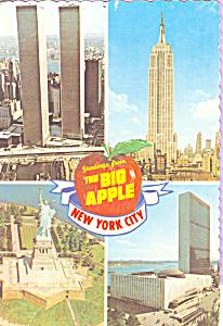 World Trade Center Empire State Building New York City cs4675 (Image1)