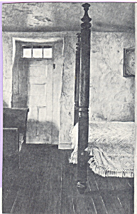 Photo Of Four Poster Bed Postcard Cs4684