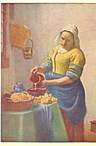 The Cook Vermeer of Delft Postcard cs4692 (Image1)